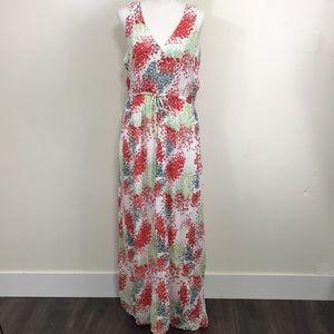 Lucky Brand Floral Bright Tank Maxi Dress